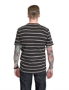 Brixton - Hilt S/S Striped Pocket Knit Tee - Washed Black