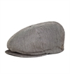 Brixton - Ollie News Boy Cap - Grey Stripe