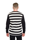 Deus - Stevie Striped Tee Blanc Stripe
