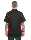 Dickies - Two Tone Work Shirt - Black/Eng Red
