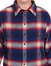Eat Dust - Northwind Over Shirt Black Bear - Checked