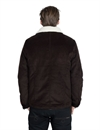 Eat Dust - 673-R Sherpa Lined Corduroy Jacket - D Brown
