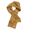 Eat Dust - Alpa Plus Knitted Scarf - Mustard