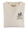 Eat Dust - ED Skull Heavy Sweater - Off White