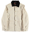Eat Dust - Snow 673-B Bull Denim Lined Jacket - Off White