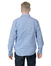 Eat Dust - Worker Shirt French Navy - Chambray