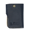 El Lobo Leathergoods - El Gringo Small Trucker Wallet - Black