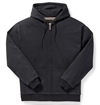 Filson - CCF Waffle-Lined Full-Zip Hoodie - Black/Walnut