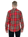 Filson - Scout Flannel Shirt - Red/Black/Flame Plaid