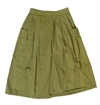 Girls Of Dust - Apron Skirt Rip Stop - Olive