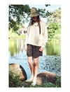 Girls Of Dust - River Shorts Rip Stop - Black