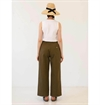 Girls Of Dust - Sailor Fatigue Herringbone Twill - Khaki