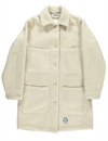 Girls Of Dust - Womans Duster Coat Casentino 800 - Off White
