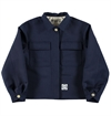 Girls Of Dust - Womens Worker Wool Jacket - Navy