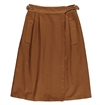 Girls Of Dust - Worker Skirt Cotton Twill - Tabacco