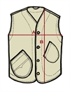 Hens Teeth - Massaua Vest - Khaki