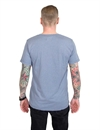 Iron & Resin - Howling Tee - washed Blue