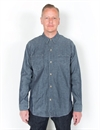 Levi´s Vintage Clothing - 1920S Two Pocket Sunset Shirt. Raw Chambray
