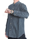 Levi´s Vintage Clothing - 1920s Two Pocket Sunset Shirt, Raw Chambray