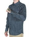 Lee - 101 Button Down Shirt - Indigo