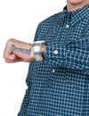 Levi´s Vintage Clothing - 1920s One PKT Sunset Shirt - Indigo Checked