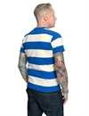 Levis Vintage Clothing - 1960s Casual Stripe Tee - Blue/White