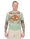 Levis Vintage Clothing - Knit Surf Tee Space Cadet Intarsia