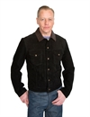 Levi´s Vintage Clothing - Suede Trucker Jacket - Pirate Black