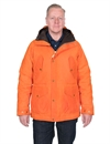 Manifattura Ceccarelli - Fisherman Parka Waxed Canvas - Orange