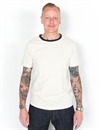 Merz b. Schwanen - 215T Training Shirt 1/4 - Nature/Marine