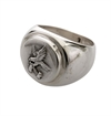 O.P Jewellery - Lumbermans Signet Ring - Silver