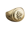 O.P Jewellery - Lumbermans Signet Ring - Brass