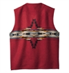 Pendleton---Chief-Star-Vest---Black-Red-212