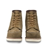Red Wing Shoes Woman 3377 6-Inch Moc Toe - Olive Mohave