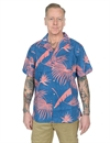 Reyn Spooner - South Pacific Palms Camp Shirt - Dark Blue