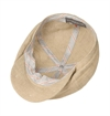 Stetson - 6-Panel Linen/Silk News Boy Cap - Beige