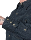 Stevenson Overall Co. - Cody Western Denim Shirt Indigo - 6.5oz
