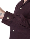 Stevenson Overall Co. - Desperado Houndstooth Flannel - Burgundy