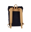 Archival Clothing - Roll Top Backpack - Navy Waxed