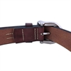 Flying Zacchinis - Baja 500 Leather Belt - Brown