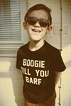 Blackdays - Boogie Till You Barf - Kids Tee Black