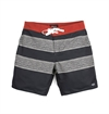 Brixton - Barge Trunk - Black/Red