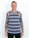 Brixton - Abram Tank Top - Blue/Navy