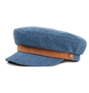 Brixton - Fiddler Cap - Light Denim