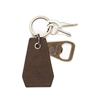 Brixton - Clipper Bottle Opener - Brown