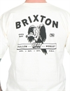 Brixton - Loner Standard Tee - Off White