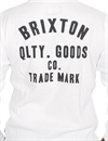 Brixton - Woodburn Long Sleeve Knit - Off White