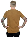 J Tex - Moves Like A Buffalo Vintage Style T-Shirt - Brown