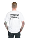 Captain Fin - New Wave Standard Pocket Tee - White