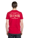 Deus - Temple Tee - Rich Red